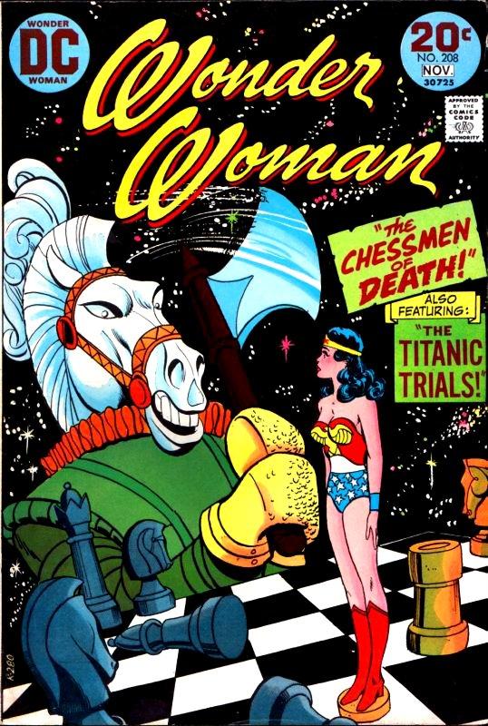 Wonder Woman Volume One Issue 208