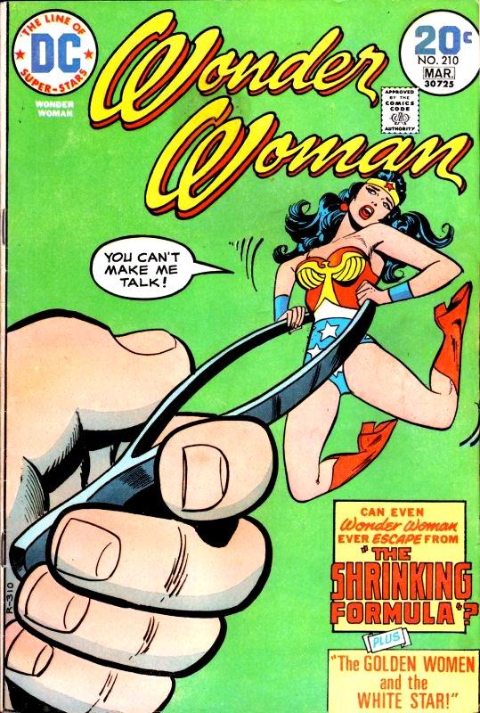Wonder Woman Volume One issue 210