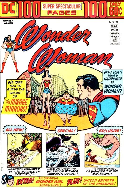 Wonder Woman Volume One Issue 211