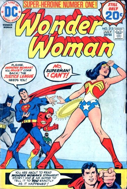 Wonder Woman Volume One Issue 212