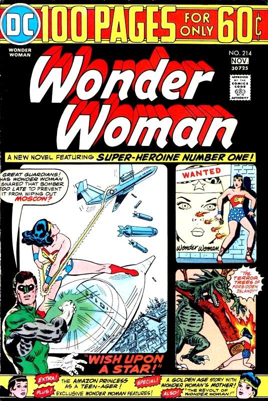Wonder Woman Volume One issue 214