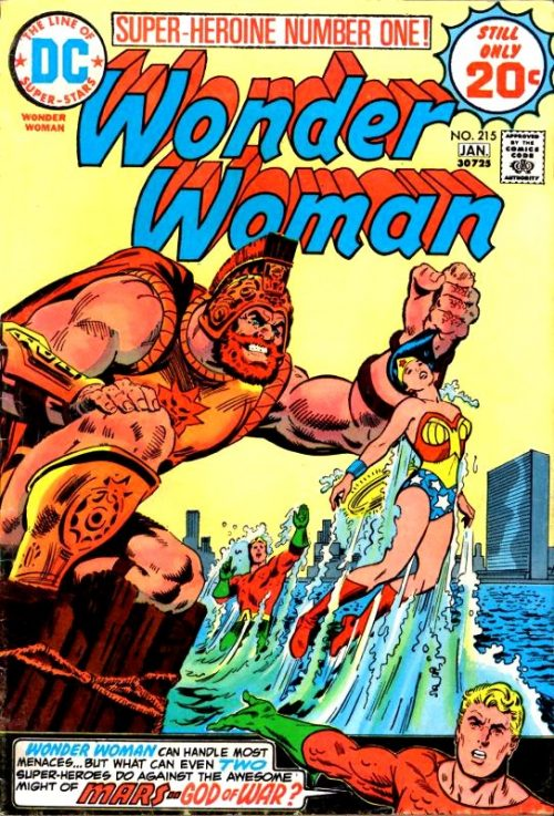 Wonder Woman Volume One Issue 215