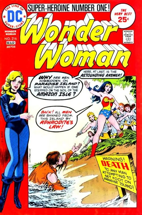 Wonder Woman Volume One Issue 216