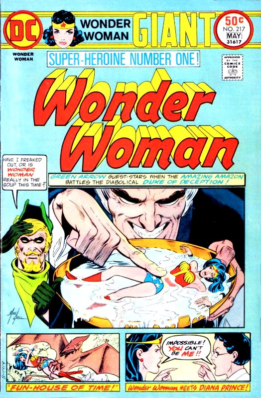 Wonder Woman Volume One Issue 217