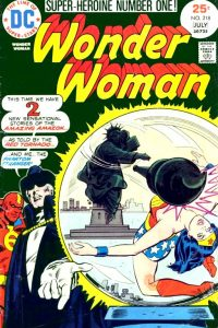 Wonder Woman Volume One Issue 218