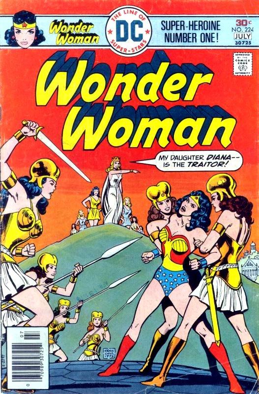 Wonder Woman Volume One issue 224