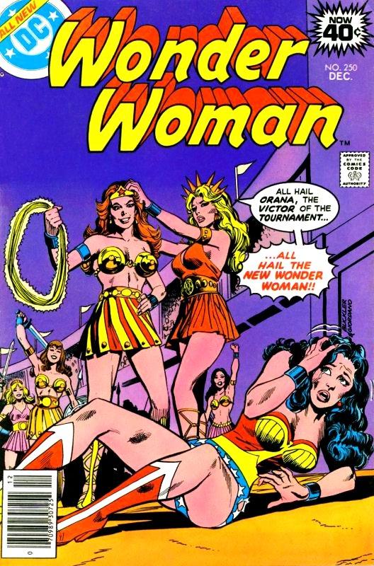 Wonder Woman Volume One Issue 250