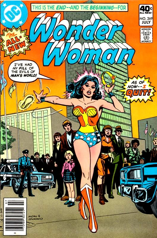 Wonder Woman Volume One Issue 269