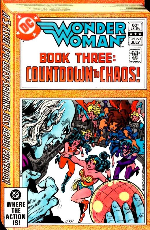 Wonder Woman Volume One Issue 293