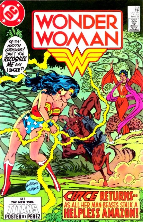 Wonder Woman Volume One Issue 313