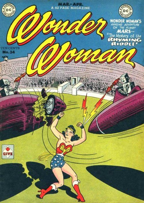 Wonder Woman Volume One Issue 34