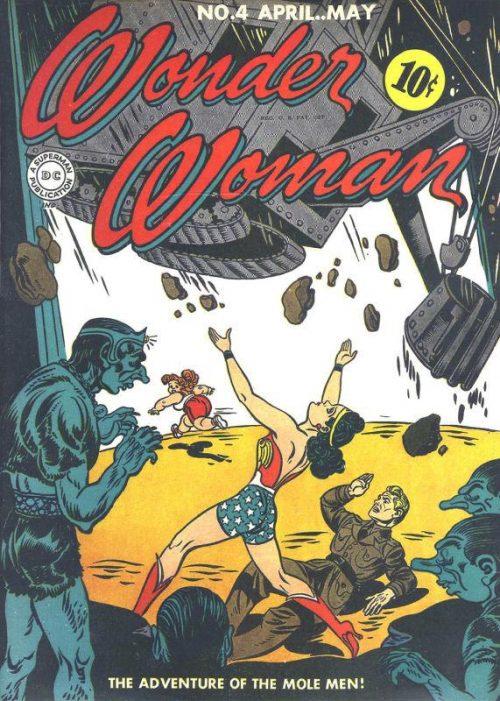 Wonder Woman Volume One Issue 4
