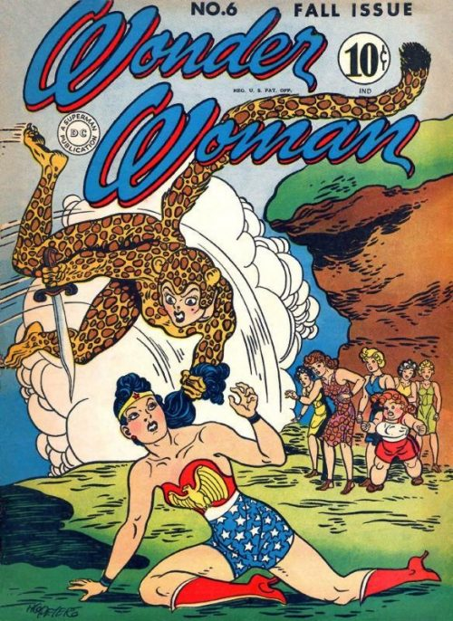 Wonder Woman Volume One Issue 6