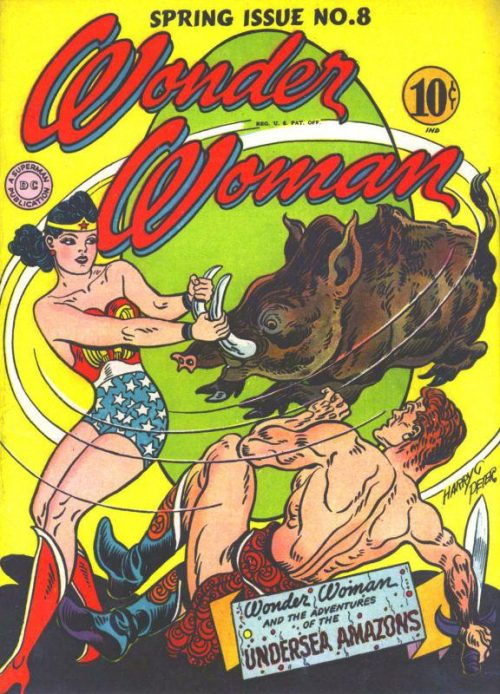 Wonder Woman Volume One issue 8