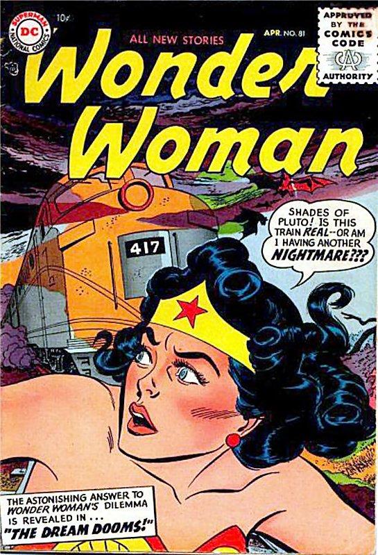 Wonder Woman Volume One Issue 81