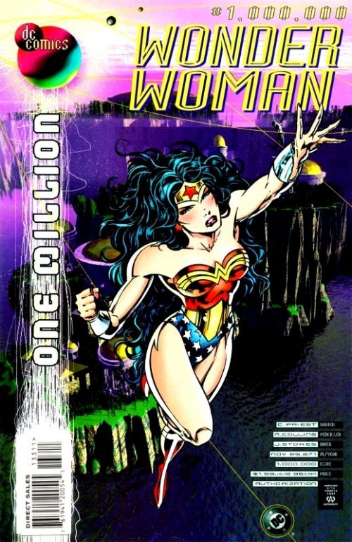 Wonder Woman Volume Two Issue 1,000,000