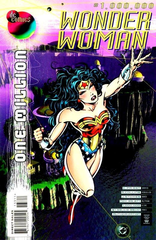 Wonder Woman Volume Two Issue 1,000,000