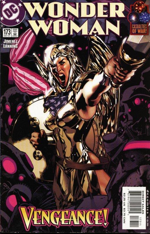 Wonder woman volume two issue 173
