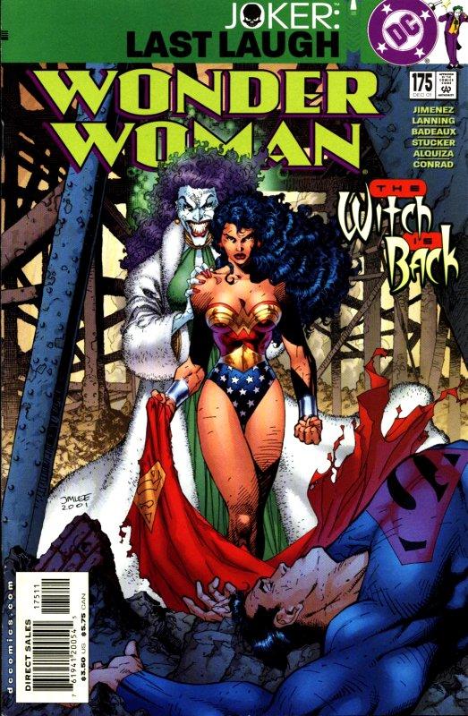 Wonder Woman volume two issue 175