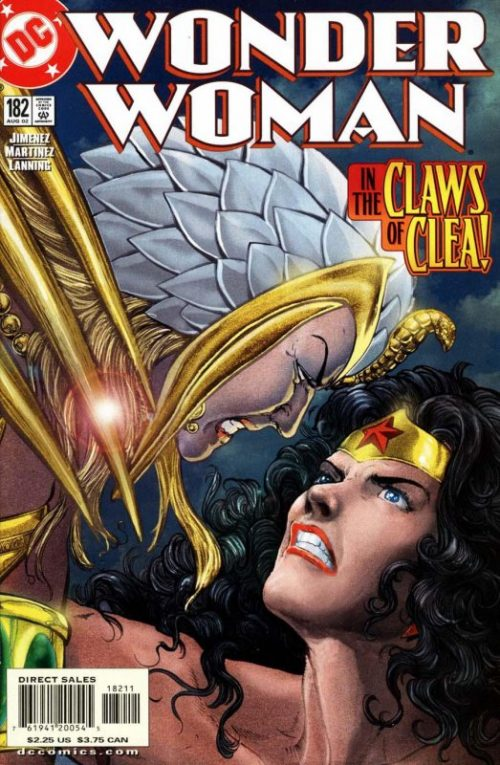 Wonder woman volume two issue 182