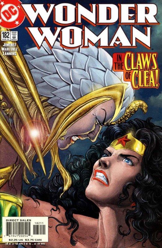 Wonder woman volume two issue 182