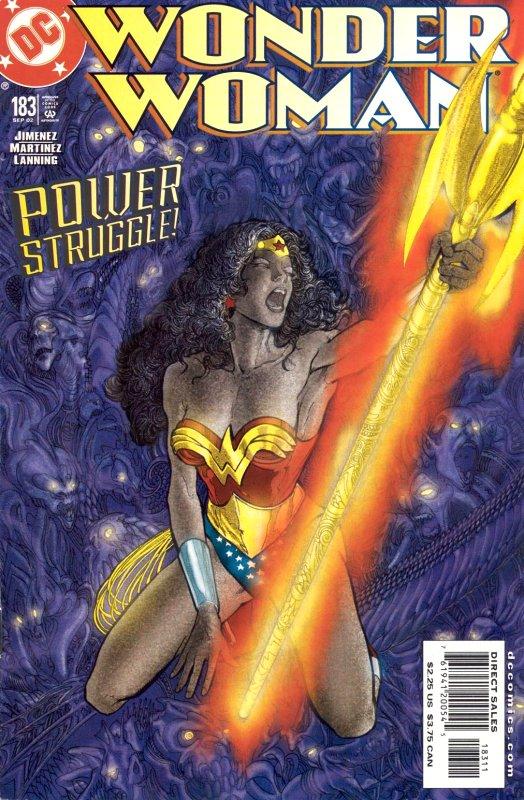 Wonder woman volume two issue 183
