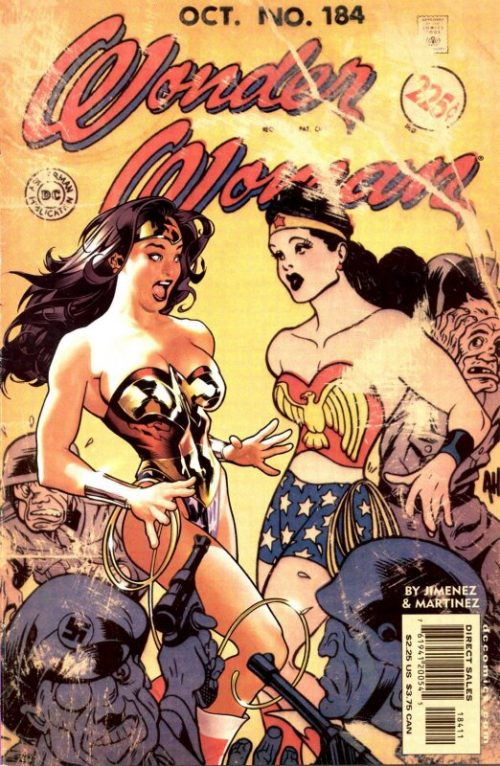 Wonder woman volume two issue 184