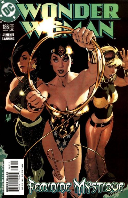 wonder woman volume two issue 186