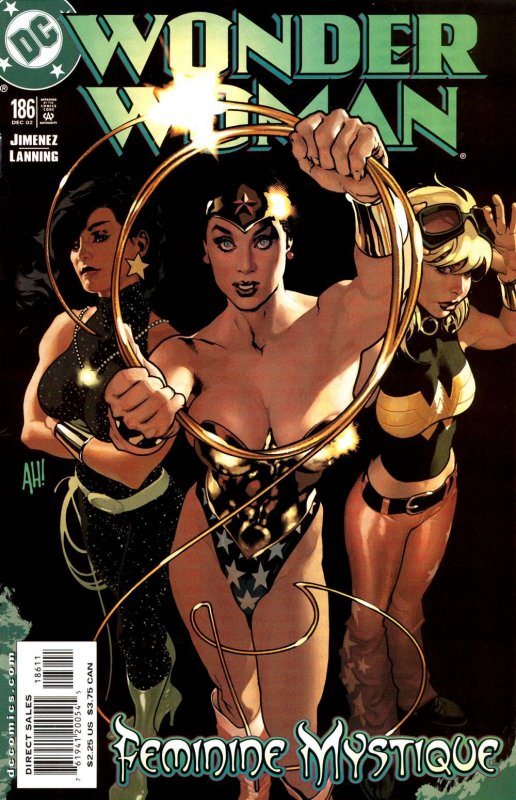 wonder woman volume two issue 186