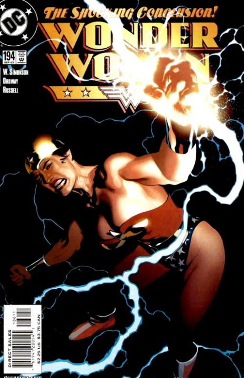 Wonder Woman volume two issue 194