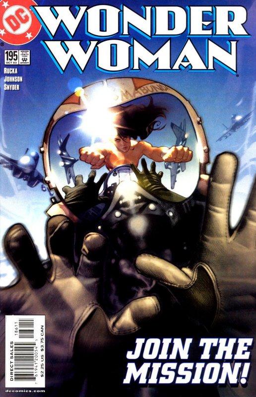 Wonder Woman Volume two issue 195