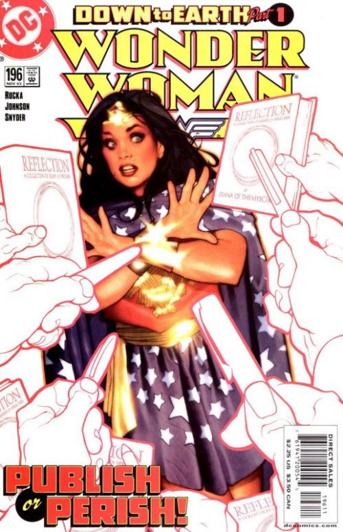 Wonder Woman Volume Two issue 196
