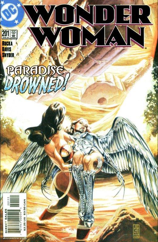 Wonder Woman Volume Two Issue 201