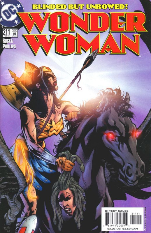 Wonder Woman Volume Two issue 211