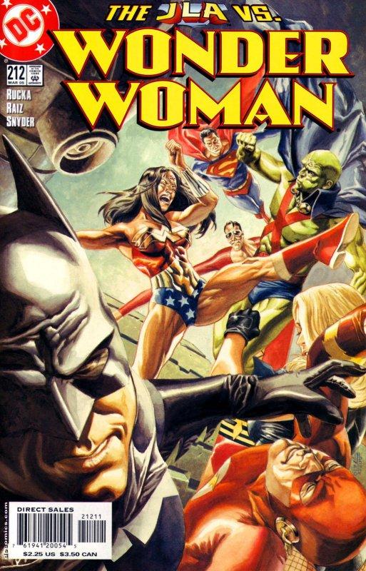 Wonder Woman Volume Two issue 212