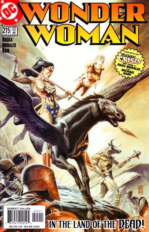 Wonder woman Volume Two Issue 215