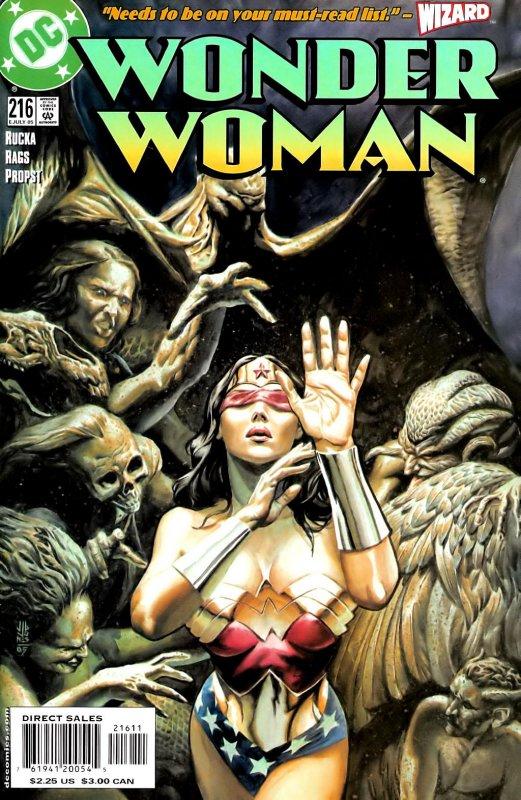 Wonder Woman Volume Two issue 216