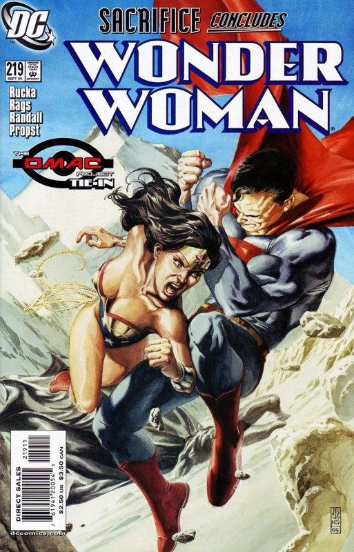 Wonder Woman Volume Two issue 219