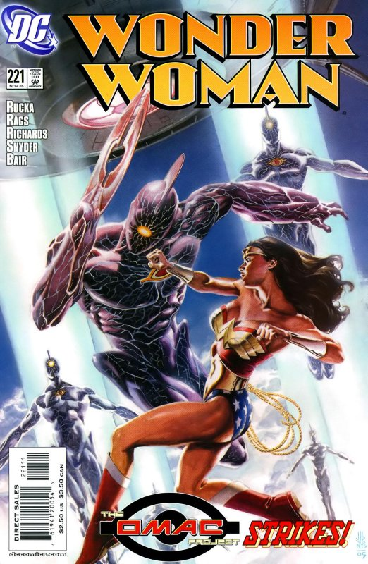 Wonder Woman Volume Two issue 221