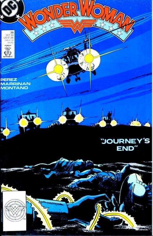 Wonder Woman Volume Two issue 35
