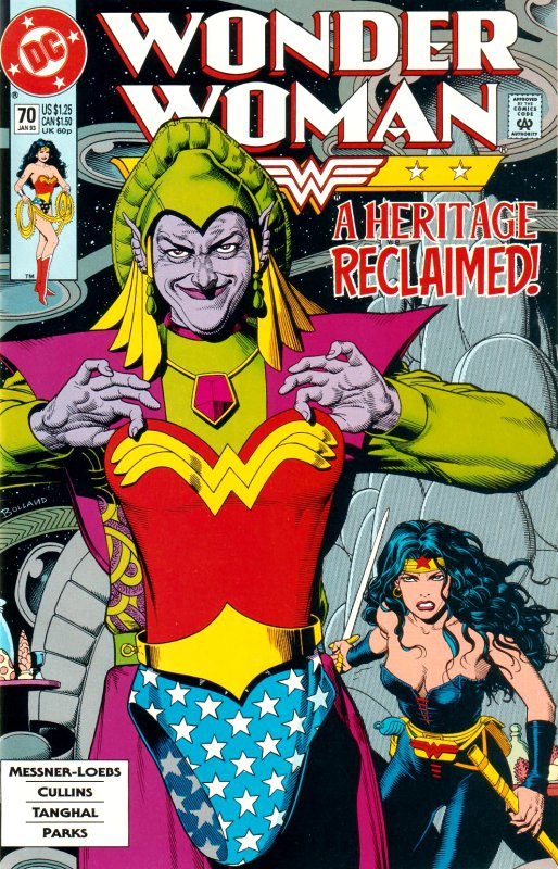 Wonder Woman Volume Two issue 70
