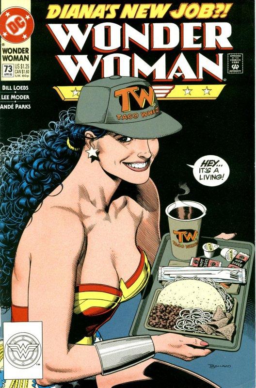 Wonder Woman Volume Two issue 73