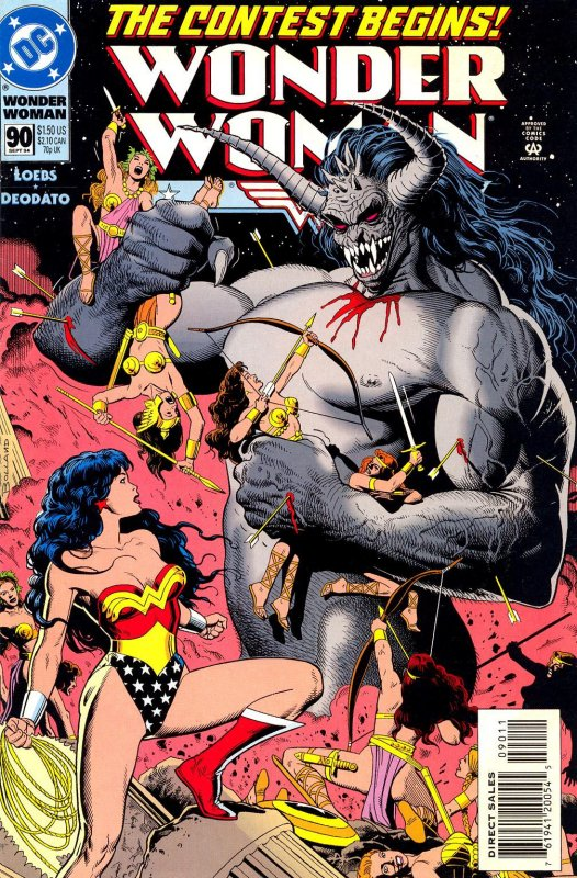 Wonder Woman Volume Two Issue 90