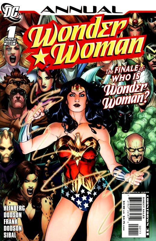 Wonder Woman Annual Volume Three Issue 1