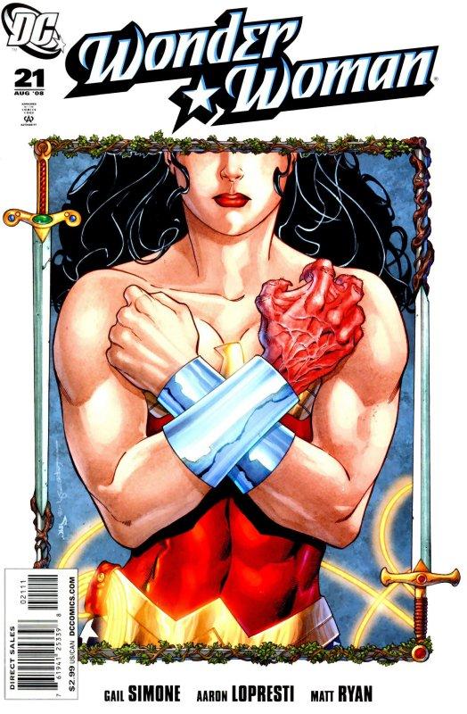 Wonder woman Volume Three Issue 21