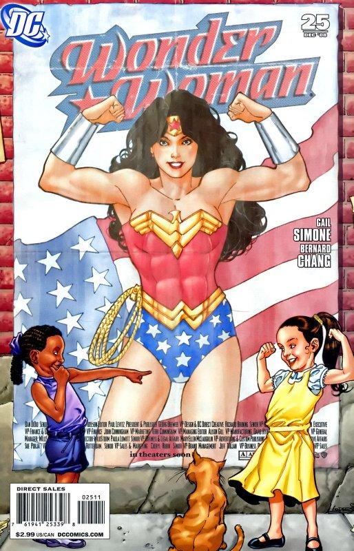 Wonder Woman Volume Three Issue 25