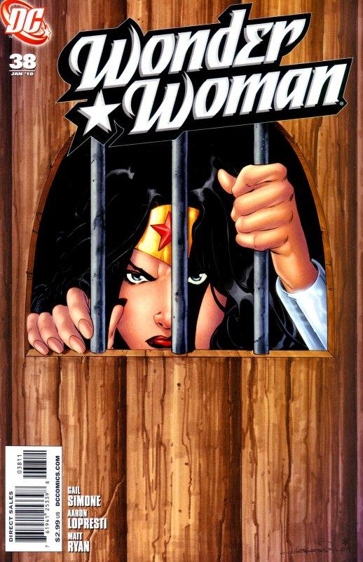 Wonder Woman Volume three Issue 38
