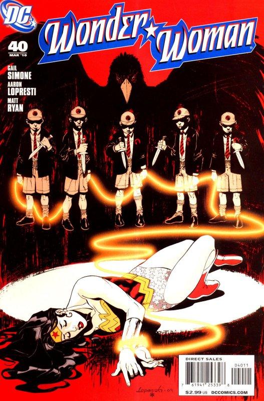 Wonder Woman Volume Three Issue 40