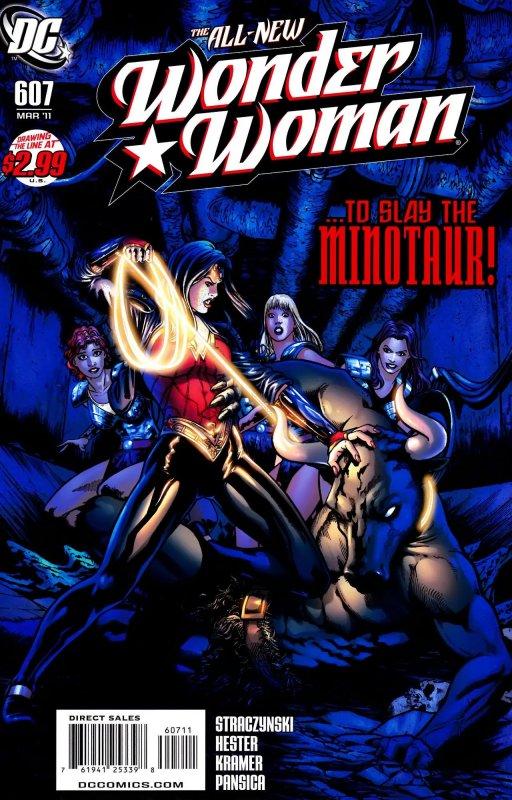 Wonder Woman Volume Three Issue 607