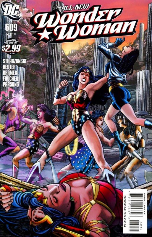 Wonder woman Volume Three Issue 609